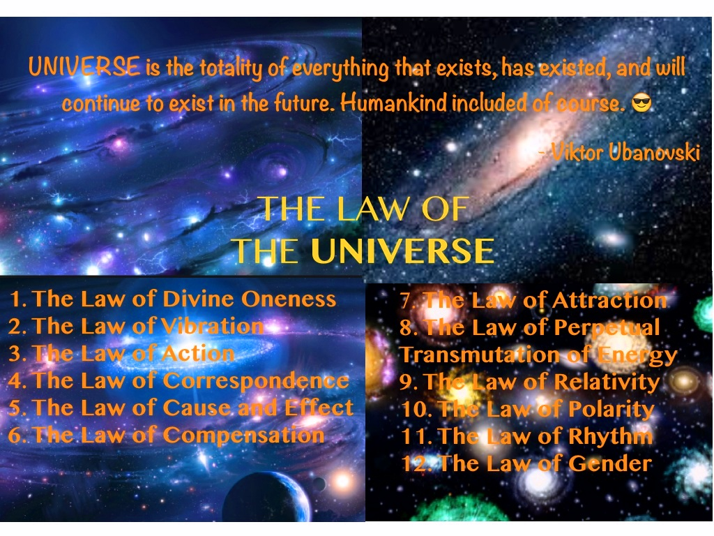 Laws of The Universe 1