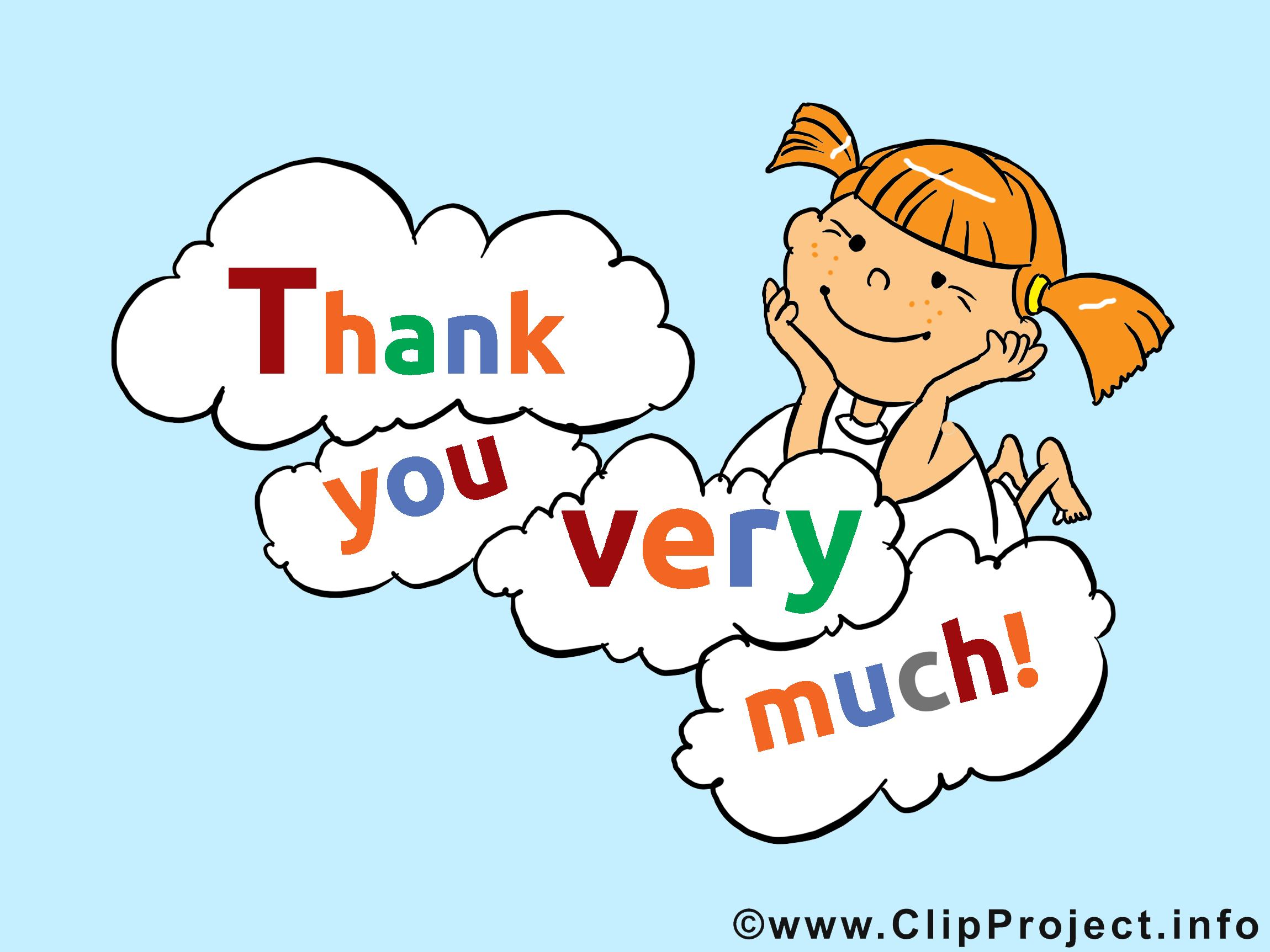 cartoon thank you cards Beautiful Thank You Clipart Animated