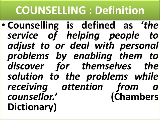 Counselling Definition 1