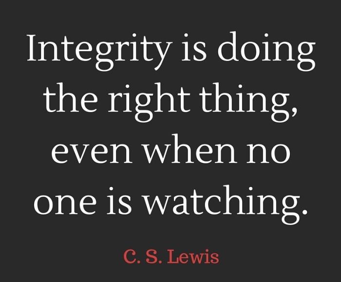 Integrity 1